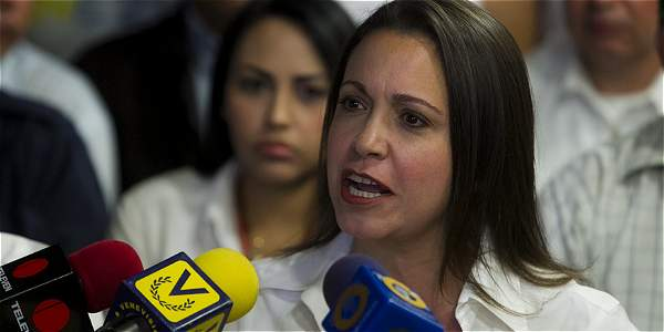 María Corina Machado, exdiputada de la Asamblea Nacional de Venezuela.