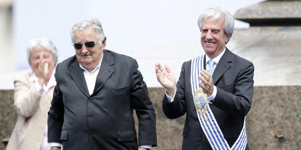 Asumió Vázquez, pero Mujica fue el protagonista