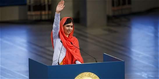 Niños de Ciudad de México piden visita de Malala