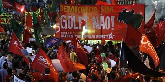 La oposición en Brasil pide en la calle la dimisión de Dilma Rousseff