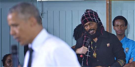 ¿Qué le respondió Obama a un rastafari en Jamaica sobre la marihuana?
