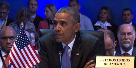 EE. UU. 'no será prisionero del pasado': discurso de Obama en Cumbre