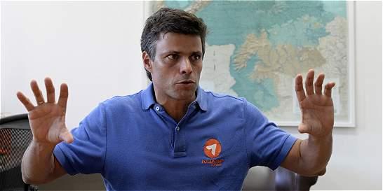 CIDH otorga medidas cautelares a favor de Leopoldo López y Ceballos