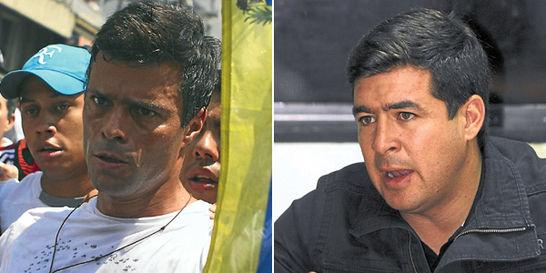 Huelga de hambre de López y Ceballos sube tensión en Venezuela