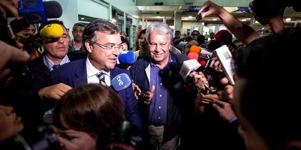 Así fue la primera jornada de Felipe González en Venezuela
