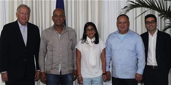 Venezuela y EE. UU. buscan limar asperezas en Haití