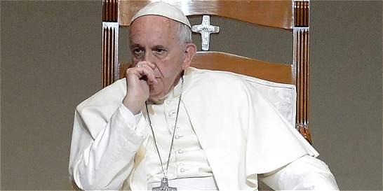 El papa Francisco dice que