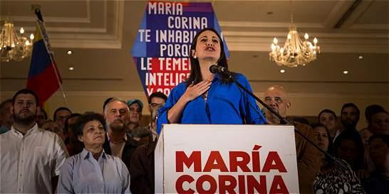 'El fraude comenzó' para las parlamentarias: María Corina Machado