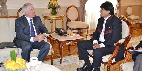 Bolivia desea recomponer relaciones diplomáticas con EE. UU.