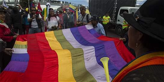 Protesta indígena llega a Quito y oficialismo anuncia defensa
