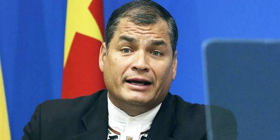 Correa: censura previa por volcán Cotopaxi