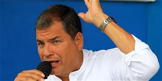 Presidente Rafael Correa pide a sus ciudadanos no comprar en Colombia