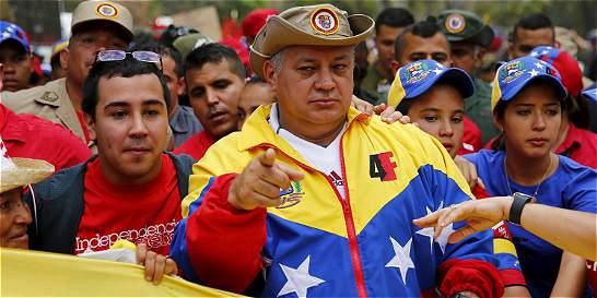 Diosdado Cabello acusa al presidente Santos de 'antivenezolano'