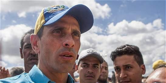 Accidente del Sukhoi genera mucha suspicacia, según Henrique Capriles
