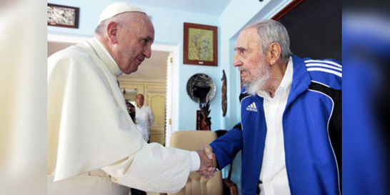 Papa y Fidel 'parecía que se conocían de toda la vida': hijo de Castro