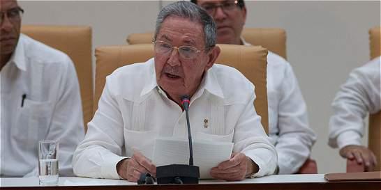 Raúl Castro está jugado por la paz de Colombia