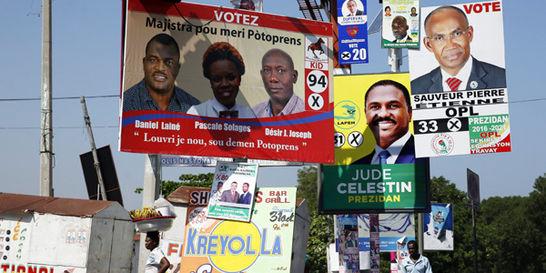 Los haitianos elegirán hoy a su presidente entre 54 candidaturas