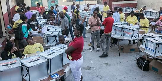 En noviembre se sabrá resultado de presidencial haitiana