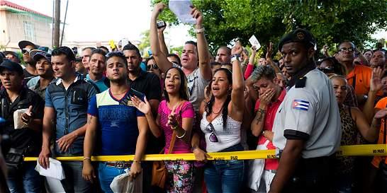 Protestas en Cuba por pedido de visa de parte de Ecuador