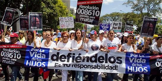 'Venezuela grita libertad', dicen líderes mundiales en carta a Maduro