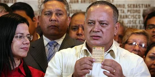 Diosdado Cabello anunció que denunciará a Santos por falsos positivos