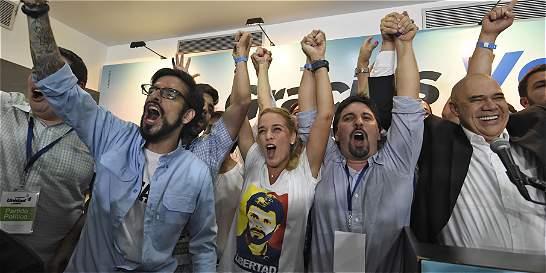 Histórica victoria de la oposición en las legislativas de Venezuela