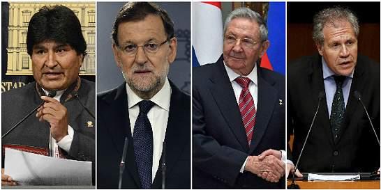 Líderes del mundo reaccionan a la victoria de la oposición venezolana