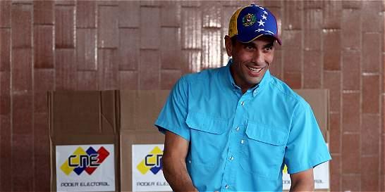 Capriles: Venezuela está en situación de emergencia