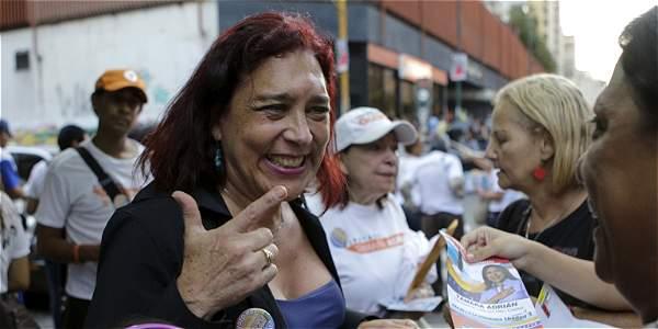 Tamara Adrián, primera diputada transgénero en historia de Venezuela