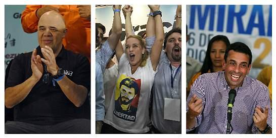 Los rostros detrás de la victoria de la oposición en Venezuela