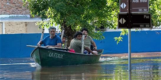 El agua le da una tregua al muy afectado Cono Sur