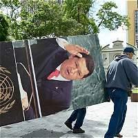 Chavismo no acepta disculpas de la oposición por retiro de imágenes