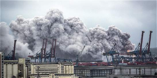 Al menos 39 personas afectadas por gas tóxico en puerto brasileño