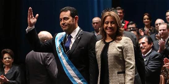 Jimmy Morales apela a la unidad para lograr una 'nueva Guatemala'