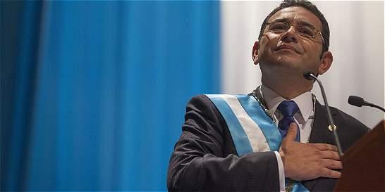 La Guatemala de Jimmy Morales se cimentará en la lucha anticorrupción
