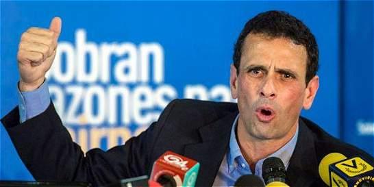 Capriles busca definir cambio de Gobierno en Venezuela antes de marzo