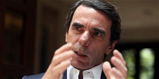 'Hay que sustituir todo el régimen en Venezuela': José María Aznar