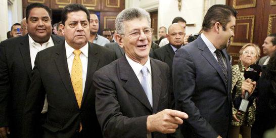 'Con la enmienda se acorta más rápido el periodo de Maduro': Allup