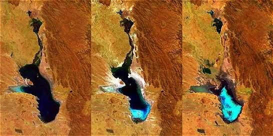 Se evaporó el segundo lago más extenso de Bolivia