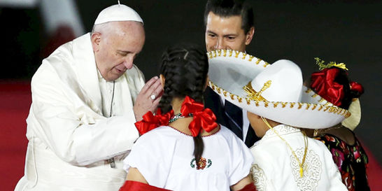 El Papa, bálsamo para las grandes heridas mexicanas