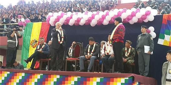 Coliseo de Bolivia fue bautizado con el nombre de Ernesto Samper