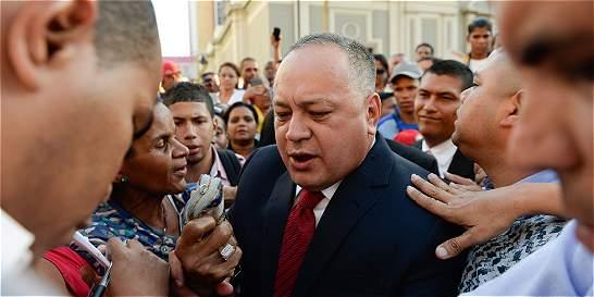 'Al que deberían detener es a Álvaro Uribe': Diosdado Cabello