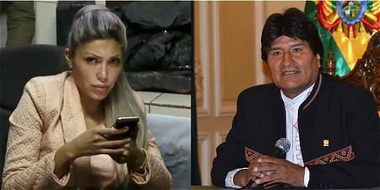 Expareja de Evo Morales admite que hijo de ambos murió en el 2009