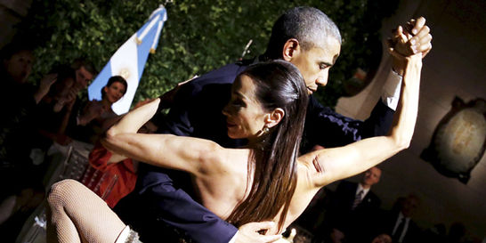 Argentina: la nueva 'pareja' de baile de EE. UU.