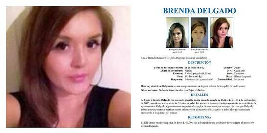 Capturada Brenda Delgado, la mujer más buscada por el FBI