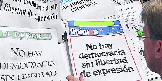 La impunidad es el gran enemigo: Sociedad Interamericana de Prensa