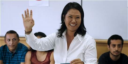 Keiko dice que libertad de su padre depende del Poder Judicial