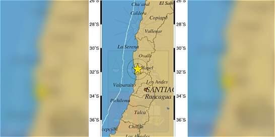 Temblor de 5,5 grados sacudió las regiones de Coquimbo y Valparaíso