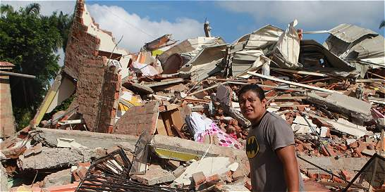 Terremoto le costaría a Ecuador hasta 3.000 millones de dólares