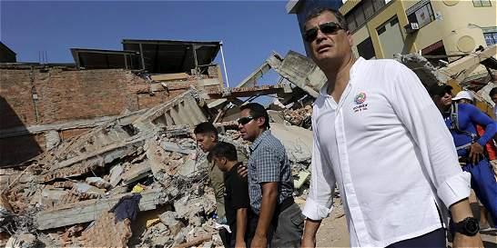 'Ayuda de Colombia ha sido extraordinaria': presidente Correa